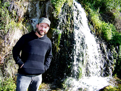 Jayme at the Falls